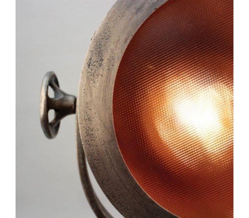 Vloerlamp Raw Nickel (Antiek)