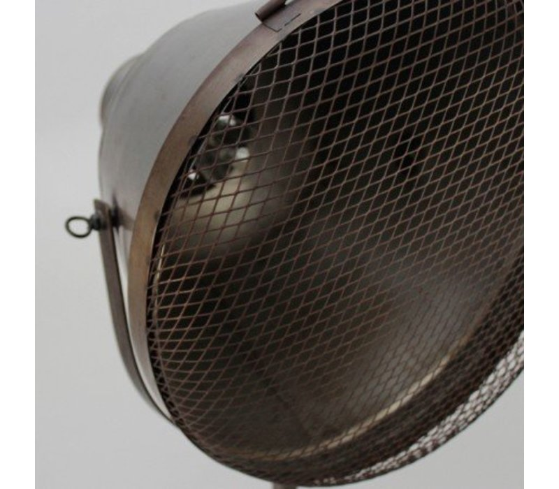 Industriële vloerlamp Gaas