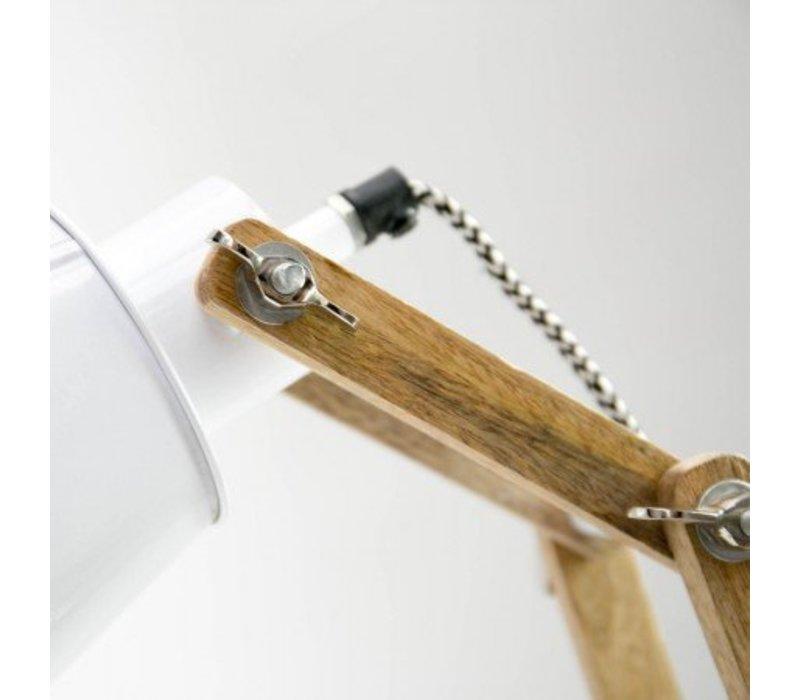 Tafellamp Scandic Wit