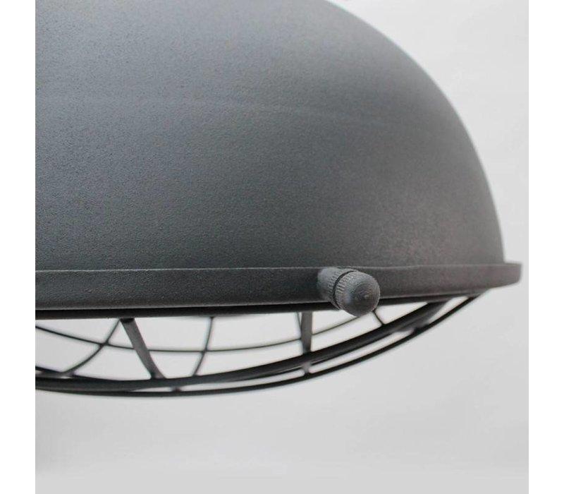Hanglamp Grid Antiek Grijs 46cm