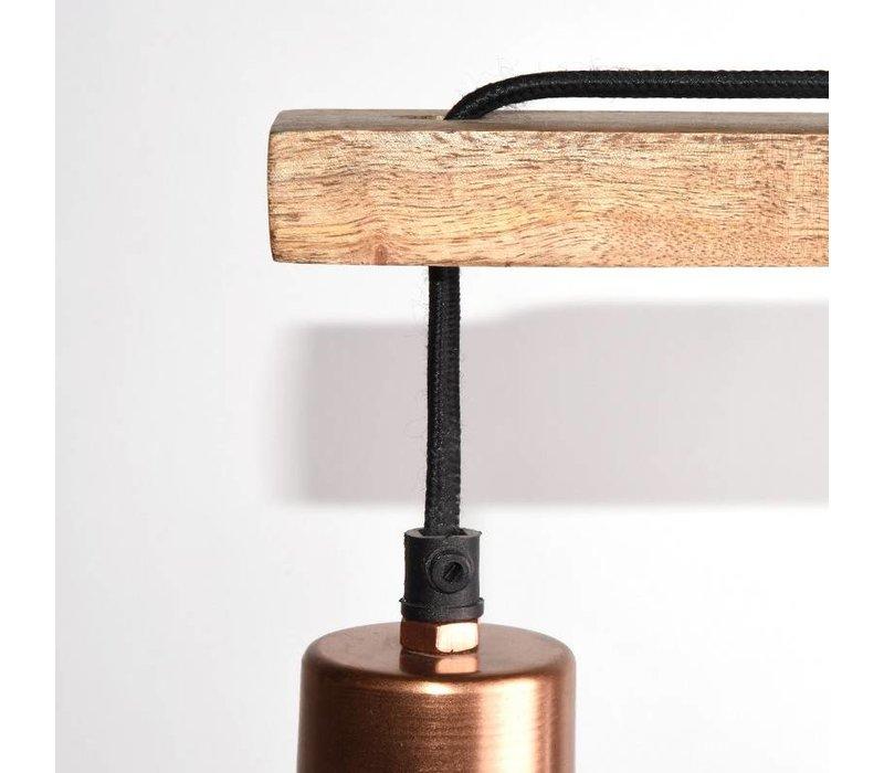 Vloerlamp Drop Koper