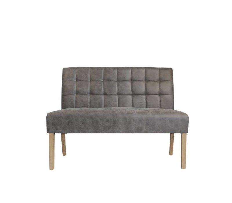 Eettafel bank Sem Antraciet 125 cm