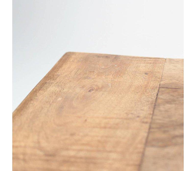 Box Salontafel Industrieel 100x65 cm