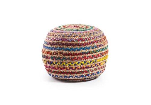 LaForma Poef SAMY multicolor