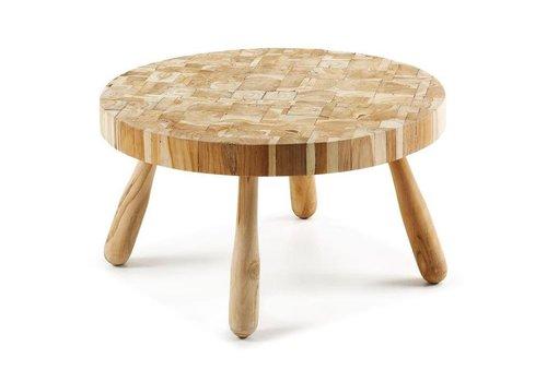 LaForma GORE Side table teak wood