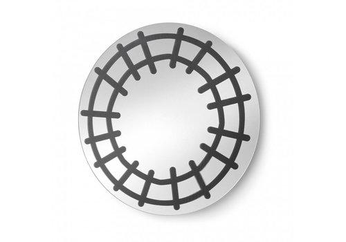 LaForma CHANTEL ronde spiegel - zwart