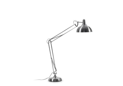 LaForma LEVI Vloerlamp Metaal Nikkel