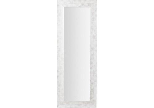 LaForma YTSIM Spiegel lijst van hout - wit