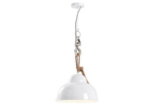 LaForma GINGER Hanglamp Metaal Wit