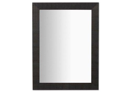 LaForma NEVES Spiegel met houten lijst - zwart