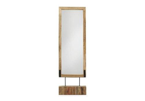Accessoires andrs living for Staande spiegel hout