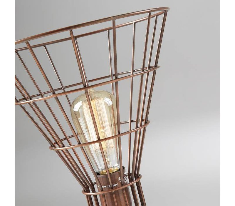 CASSIA Tafellamp Metaal Koper