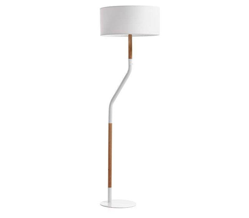 CAROLE Vloerlamp Wit