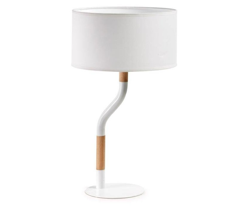 CAROLE Tafellamp Wit