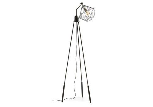 LaForma CANADY Vloerlamp Zwart