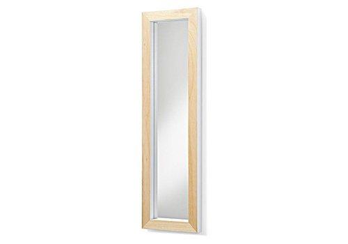 LaForma DROP Spiegel houten lijst - wit