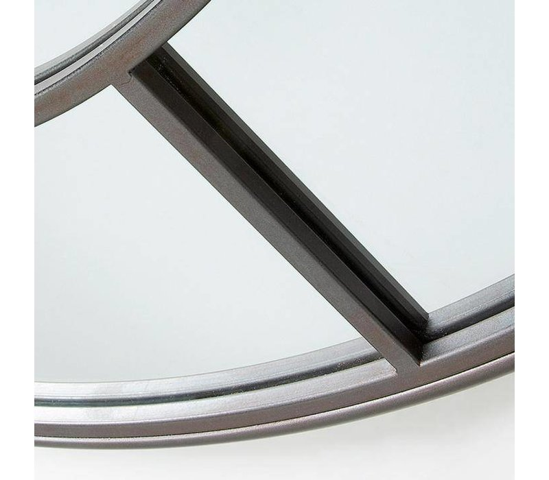 DESMOND Spiegel metaal - grijs