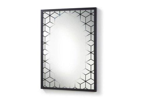 LaForma CARLS spiegel lijst van hout - zwart