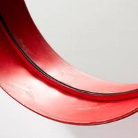 ASSIDO Spiegel metaal - rood