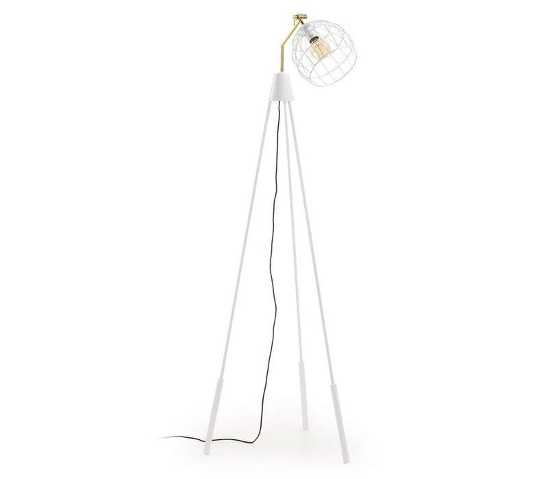 BRIANA Vloerlamp Metaal Wit