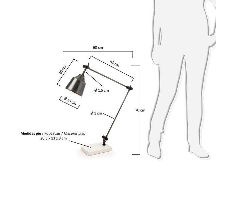 BOOGEN Tafellamp Metaal
