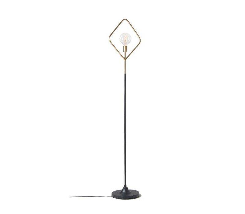 ADDRA Vloerlamp Metaal Goud