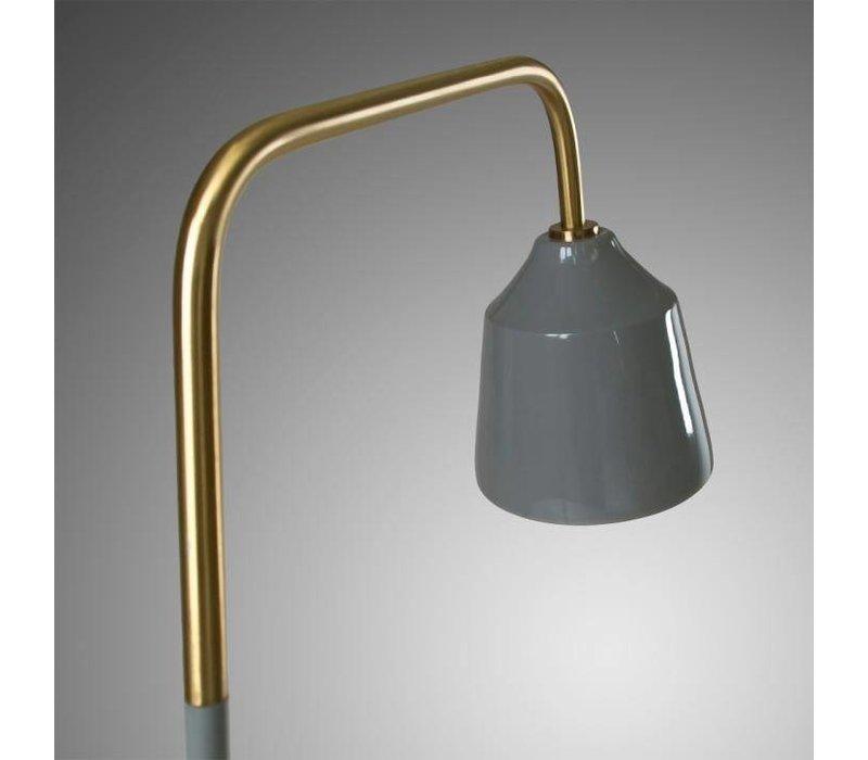 BECK Tafellamp Metaal Grijs