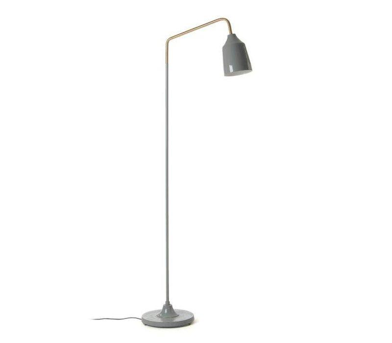 BECK Vloerlamp Metaal Grijs
