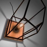 BENKA Tafellamp Metaal Zwart