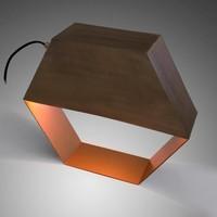 BERN Tafellamp Metaal Goud