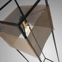 BESS Vloerlamp Metaal Goud