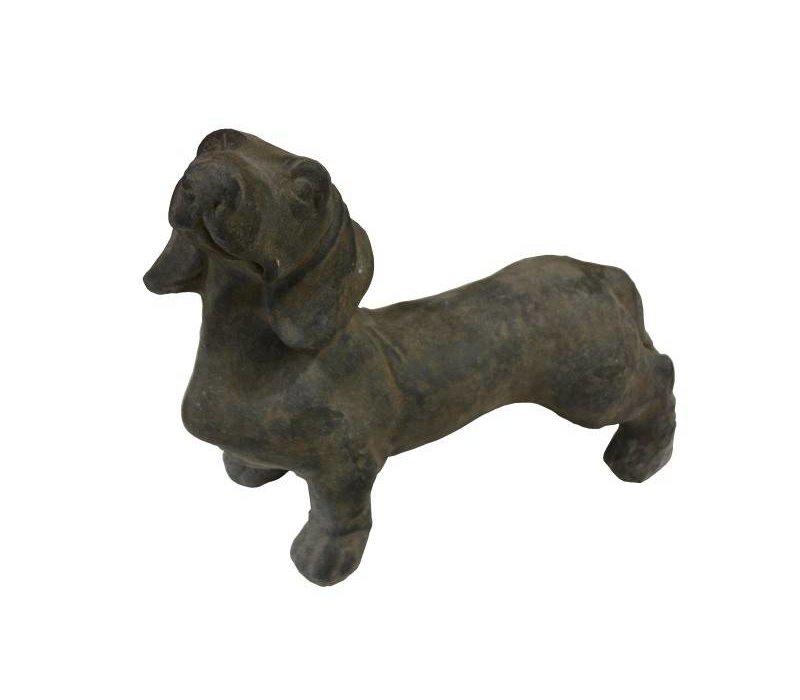 Beeld hond Joep - teckel/joep - caementum