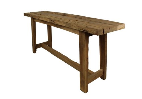 HSM Collection Bankje Lawas - 100 cm - blank - teak