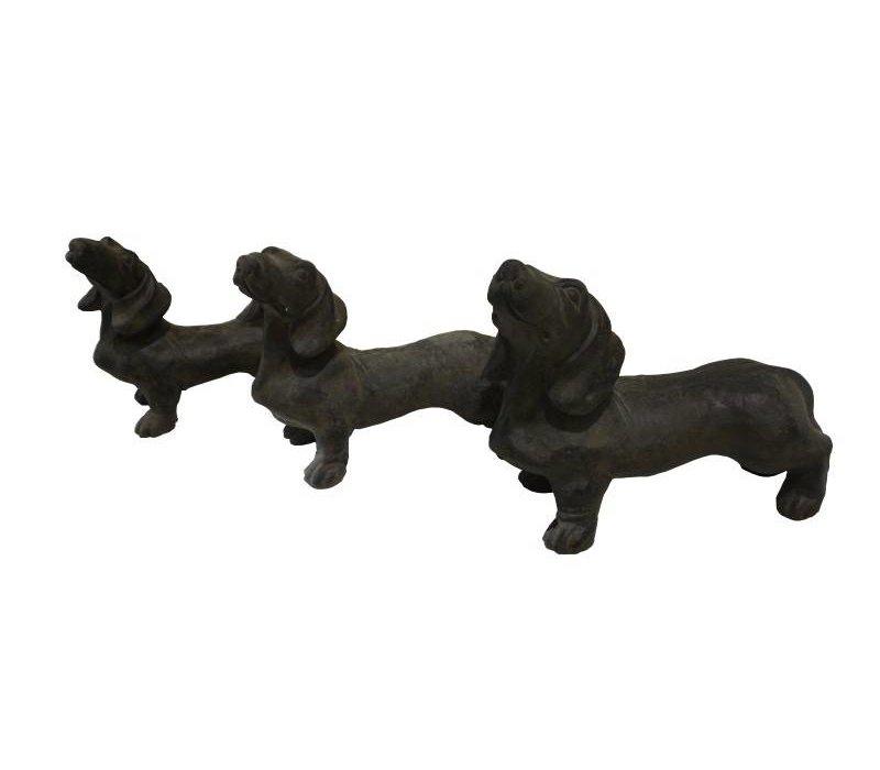 Beeld hond Joep XL - teckel/joep - caementum