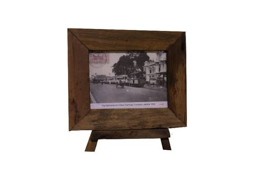 HSM Collection Fotolijst antiek medium - old wood - oud teak