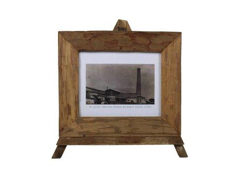 HSM Collection Fotolijst large - blank - teak