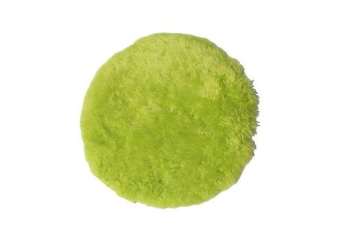 HSM Schapenvacht Rond - tea green