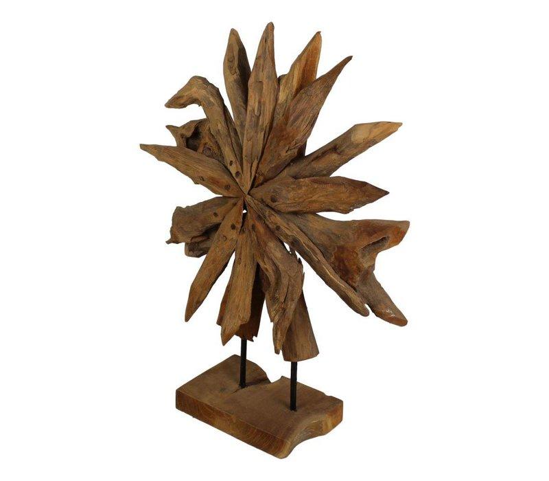 Decoratie Sunflower - small - blank