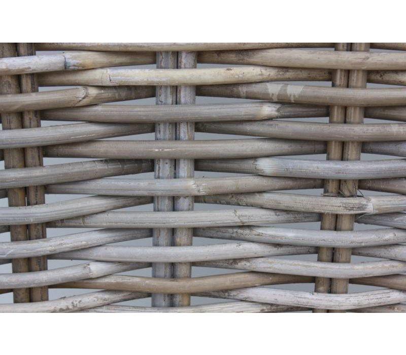 Armstoel Parma - koboo grijs/crème - koboo