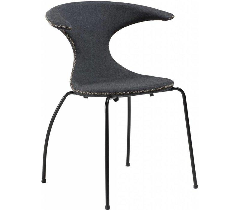 Flair stoel grijs / zwart
