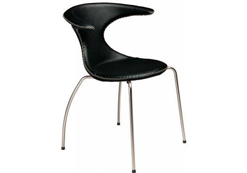 DAN-FORM Flair stoel zwart / mat