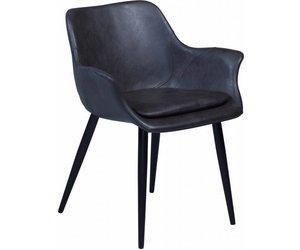 Stoel Met Leuning : Combino stoel met armleuning grijs webmeubels