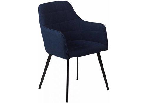 DAN-FORM Embrace stoel blauw stof