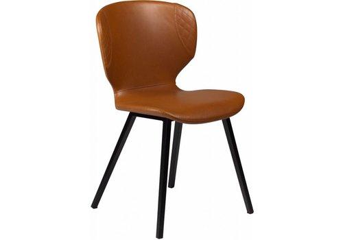 DAN-FORM Hawk stoel lichtbruin kunstleer