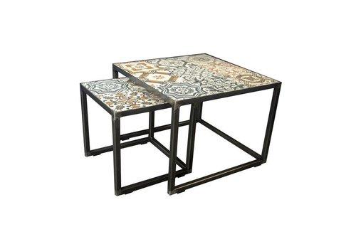 IBIZA Nest of tables -  Miniset