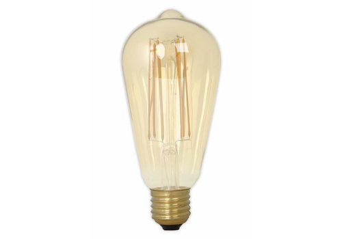 Calex LED lamp goud ST64 Squirrel Cage E27