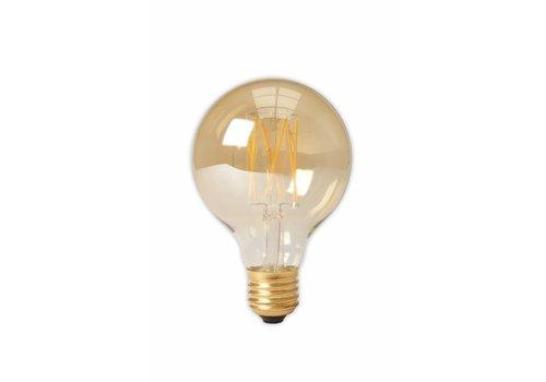 Calex LED lamp goud GLB80 Globe E27