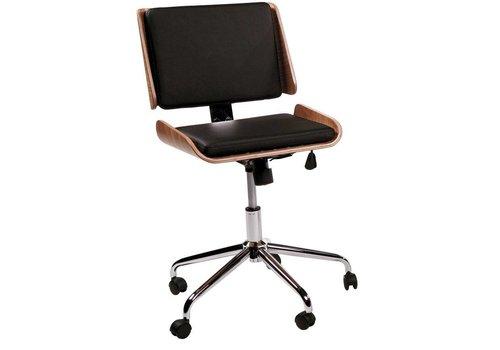 DAN-FORM Retro bureaustoel eiken