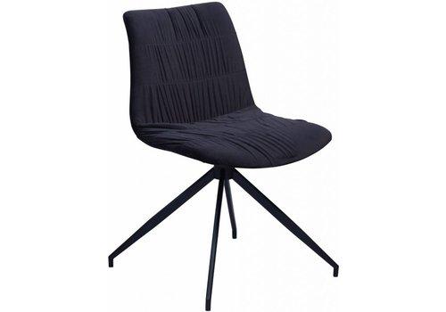 DAN-FORM Dazz stoel zwart fluweel