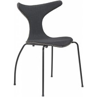 Dolphin stoel grijs / zwart